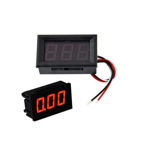 Dijital Panel Voltmetre DC 0-100 V resmi 2