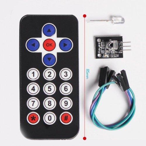 IR Alıcı Verici Kumanda Seti - IR Receiver Module Wireless Remote Control K resmi 1