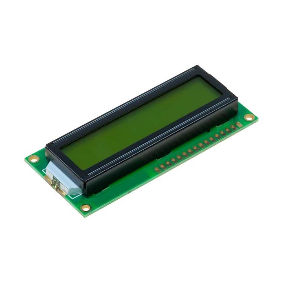 2*16 DİSPLAY  LCD YEŞİL resmi 1