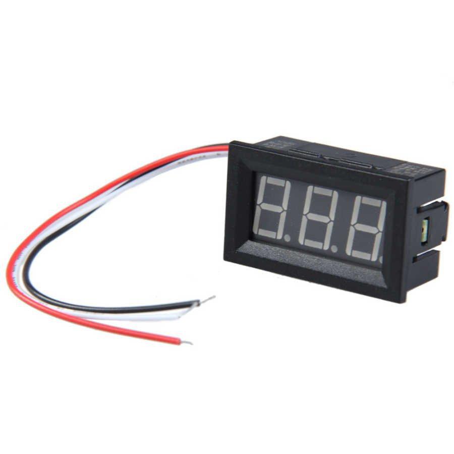Dijital Panel Voltmetre DC 0-100 V resmi 1