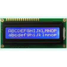 2*16 DİSPLAY MAVİ LCD resmi 1