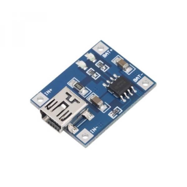 TP4056 1A Lipo Pil Charge Module ( ŞARJ MODULÜ ) resmi 1