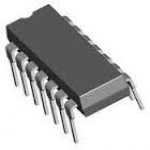 CD4094 ( 8-BIT RIGHT SERIAL IN PARALLEL OUT SHIFT REGISTER, TRUE OUTPUT ) resmi 1