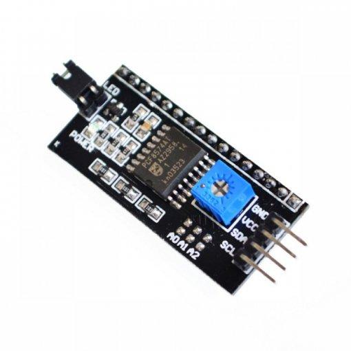 Karakter LCD I2C/IIC Dönüştürücü Kartı resmi 1